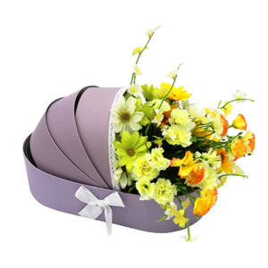 confinement gift box flower packing box high grade soap bouquet gift box wholesale