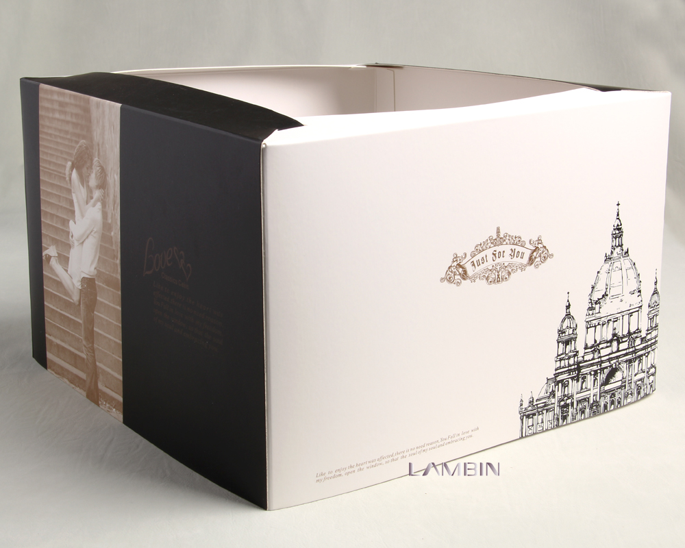 Sweetheart Printing Packaging Company Customize Environmental Packing Box For Gift