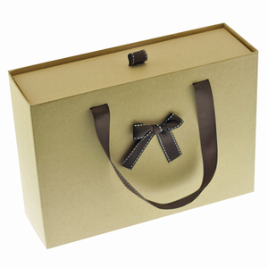 Purely Natural Drawer Kraft Custom High-grade Women's Gift Box Paper Bag, Paper Suitcase Gift Box