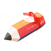 Original Spot Pencil Shape Candy Gift Box Spot Creative Folding Small Gift Color Packaging Box Custom