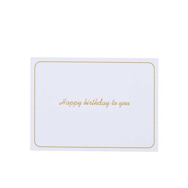 Paper Custom Birthday Custom Greeting Thank You Cards Sets