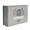 Customized Luxury Magnetic Gift Box Packaging ,Recyclable Paper Cardboard Boxes With Logo Sliver Stamping