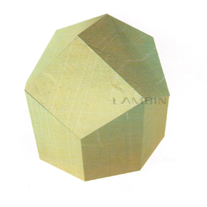 regular hexagonal prism shape packaging box