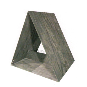 Triangular Shape with An Inset Structure Paper Box Packing Fashionable Adornments