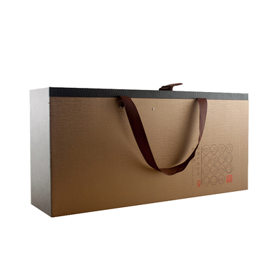 Luxurious Custom Logo Printed Recycled Tea Packaging Paper Box, Paper Packing Box With Paper Cardboard