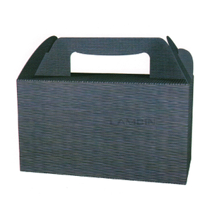 shock-proof structure carrier paper box
