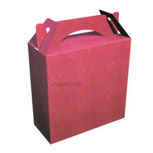elegant and luxurious carrier paper box