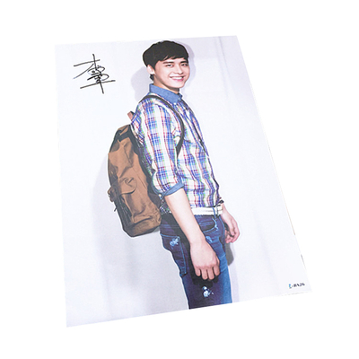 high quality Recycling Art Paper Printing Poster Playbill with movie star