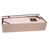 High quality festival custom opening gift decorative rectangle flower box