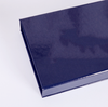 Customized Logo Book Type And High-end Eye Mask Flap Black Magnet Paper Box, Paper Box Magnetic