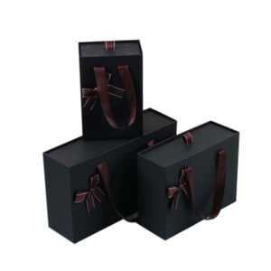 2020 Best Quality black paper box cheap,packaging paper box for gift