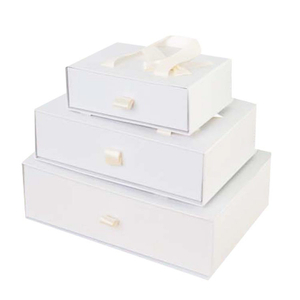 Wholesale Customized gift drawer box paper designs,custom paper box with logo printing