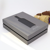 high grade red wine box moon cake box
