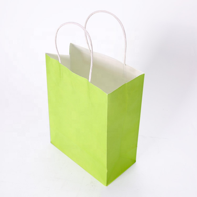 Wholesale Custom Printed Paper Bags Gift Shopping Packaging Tote Bag With Logos