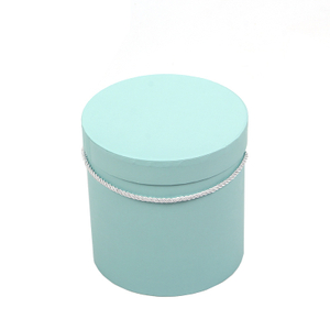large holding bucket three sets of flower shop supplies round flower box gift box