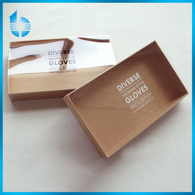 Cardboard Packaging Box With Pvc Cover For Women