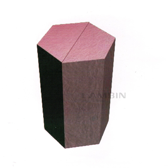 regular pentagonal box