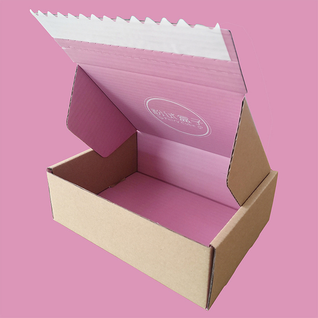Wholesale Custom Printed Unique Corrugated Cardboard Paper Box with Print