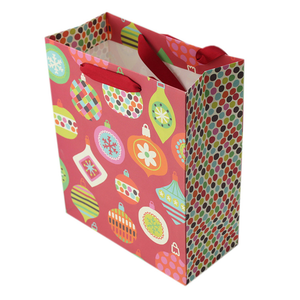 High Quality christmas gift shopping paper bag,paper gift bag large