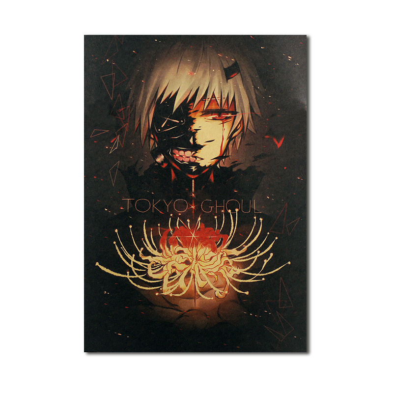 high quality Recycling Art Paper Printing poster A5 frame For naruto posters