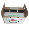 Farm Fresh Factory Price Custom Wax Produce Box For Vegetable And Fruit