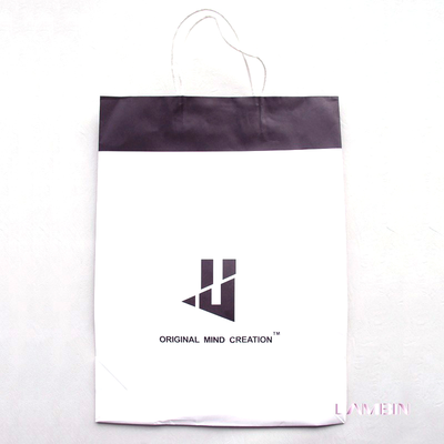 Custom Die Cut Paper Hand Bag For Adult Athletic Clothing