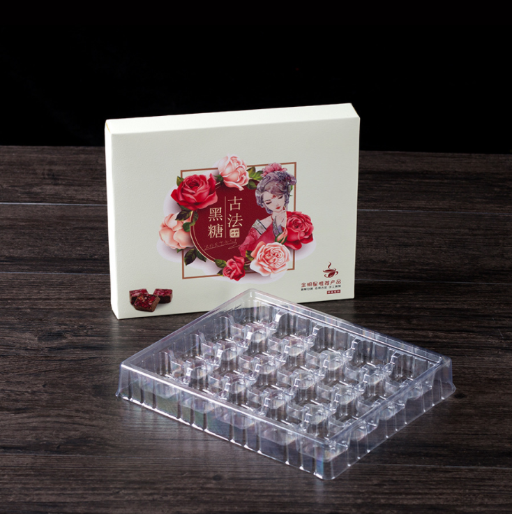 2020 Custom Luxury Printed Logo Packaging Sugar Boxes With Plastic Inserts