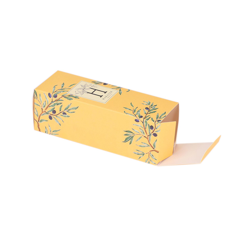 Custom Paper 350gsm Cardboard Printed Packaging Display Small Folding Gift Box