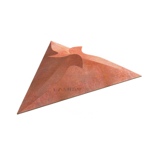 Triangular Paper Box for Packing Accessories