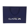 Factory paper gift bag custom logo,black paper gift bag with handle