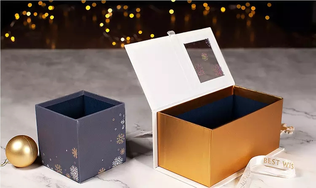Wholesale Factory Cheap Custom Christmas Gift Packing Box