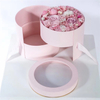 wholesale Luxury Creative Double Rotating Surprise Round Flower Box
