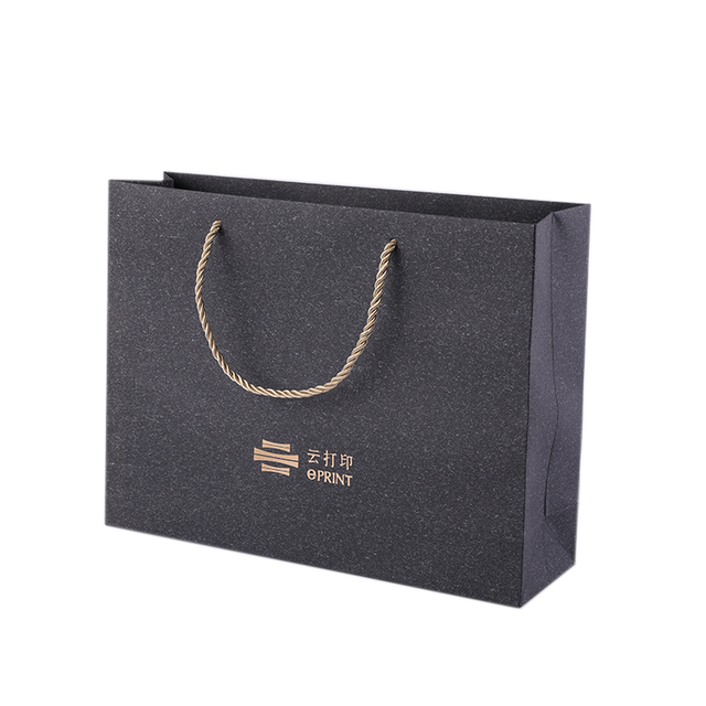 Manufacturer black luxury paper logo bags,paper bags for gift with handles