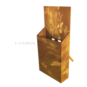foldable supporting structure paper box