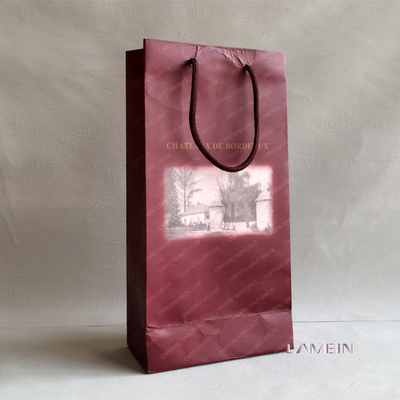 Hangzhou Factory Supply 4 Color Offset Printing Colorful Gifts Paper Bags