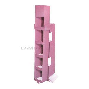 Die Cutting And Folding Cardboards Paper Box for The Displaying of Daily Commodities